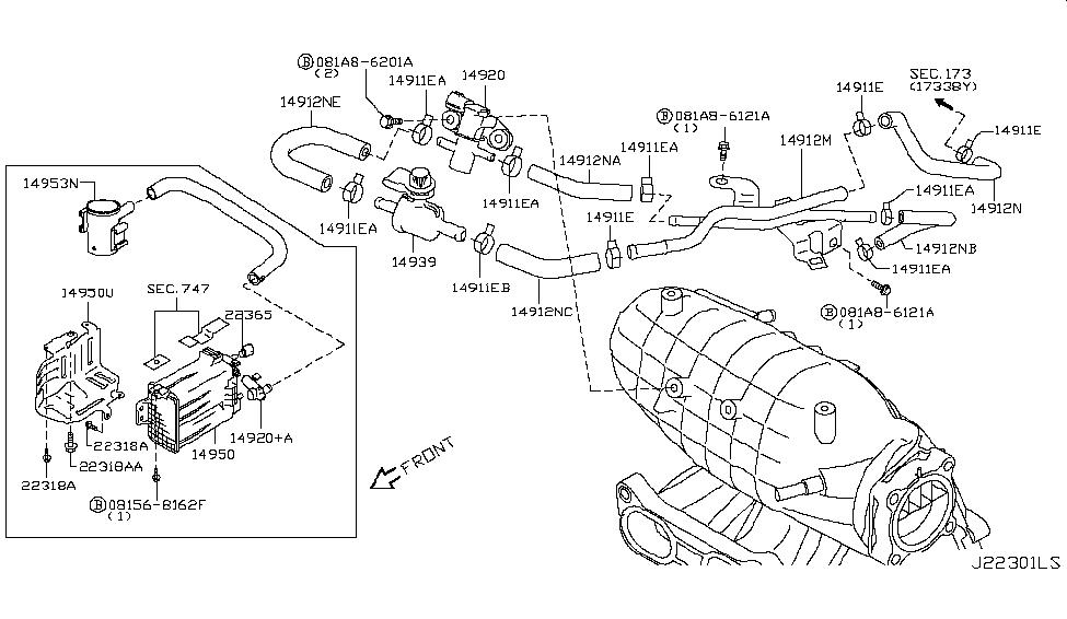nissan 14950 jm00b 2014 nissan rogue serpentine belt replacement rogue engine motor mount torque strut