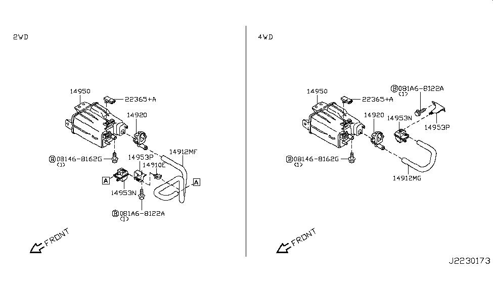 2013 nissan juke engine control vacuum piping nissan parts 2011 nissan juke fuse diagram 2014 nissan juke model f15 series