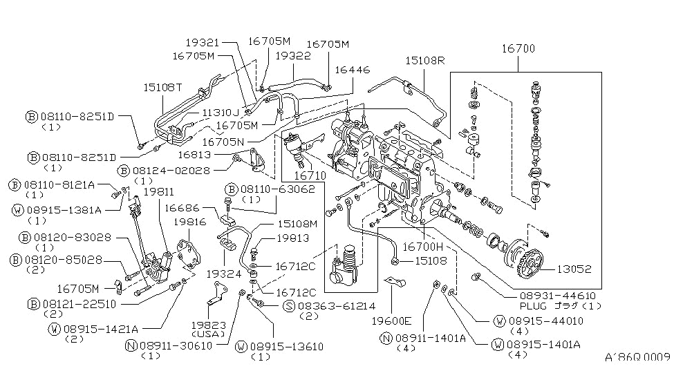 Fuel Injection Pump Diagram