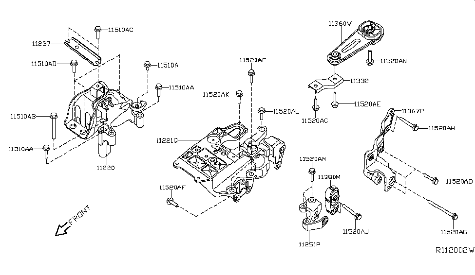 2010 Nissan Sentra Engine Diagram