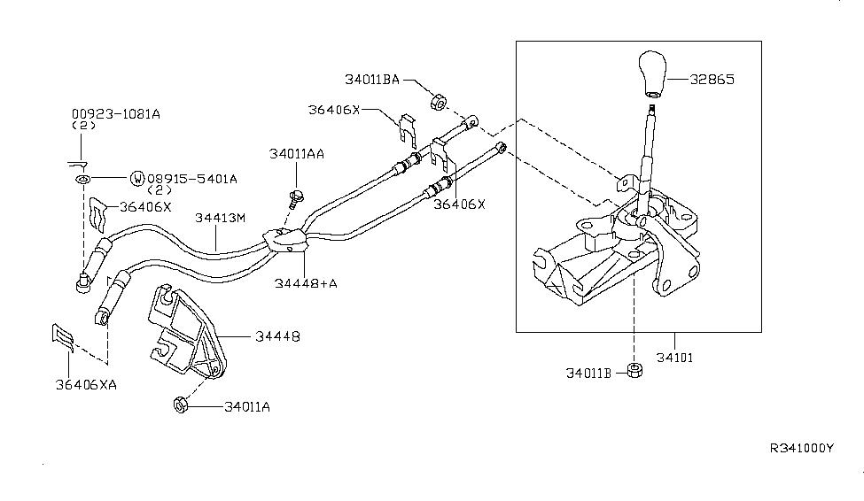 Bestseller: 2007 Nissan Sentra Manual Shifter Assembly