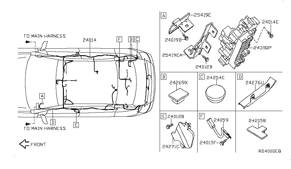 2009 Nissan Sentra Wiring - Nissan Parts Deal