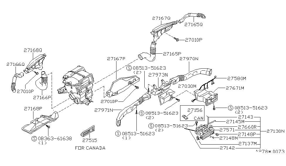 1983 280zx ignition wiring diagram 27041-p7100   genuine nissan #27041p7100 switch-fan nissan 280zx heater wiring diagram #2