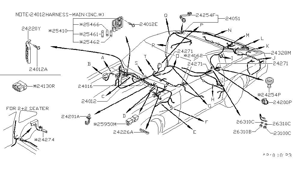 1979 nissan 280zx wiring nissan parts deal rh nissanpartsdeal com Combination Switch Wiring Diagram 280ZX 82 280ZX Wiring-Diagram