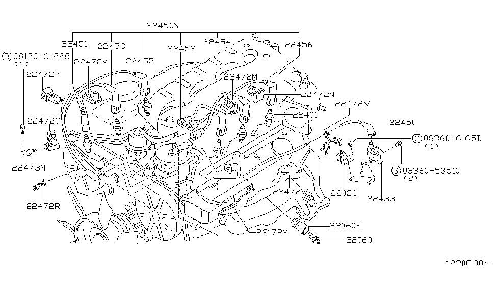 Nissan 22060-56S10