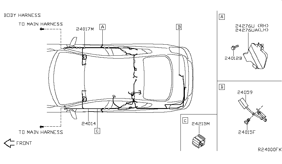 2007 Nissan Altima Sedan Wiring - Nissan Parts Deal