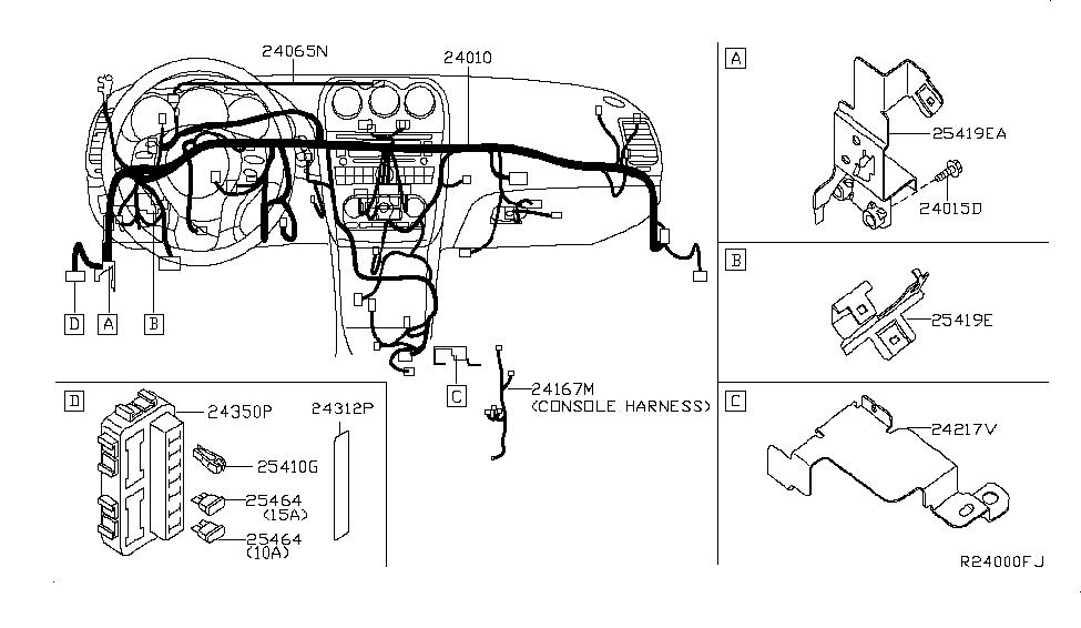 2012 Nissan Altima Sedan Wiring - Nissan Parts Deal on