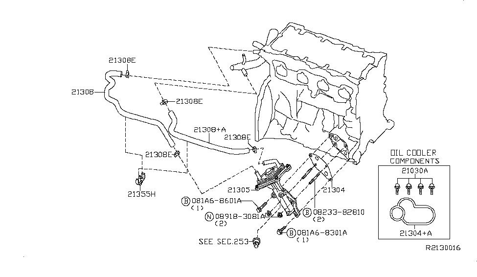 Nissan Altima 2007 Parts Diagram