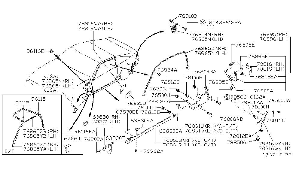 Nissan Sentra Body Parts Diagram - Atkinsjewelry