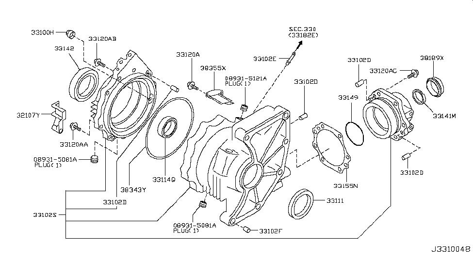 2004 nissan murano transfer case nissan parts deal 2004 Murano Custom Exhaust