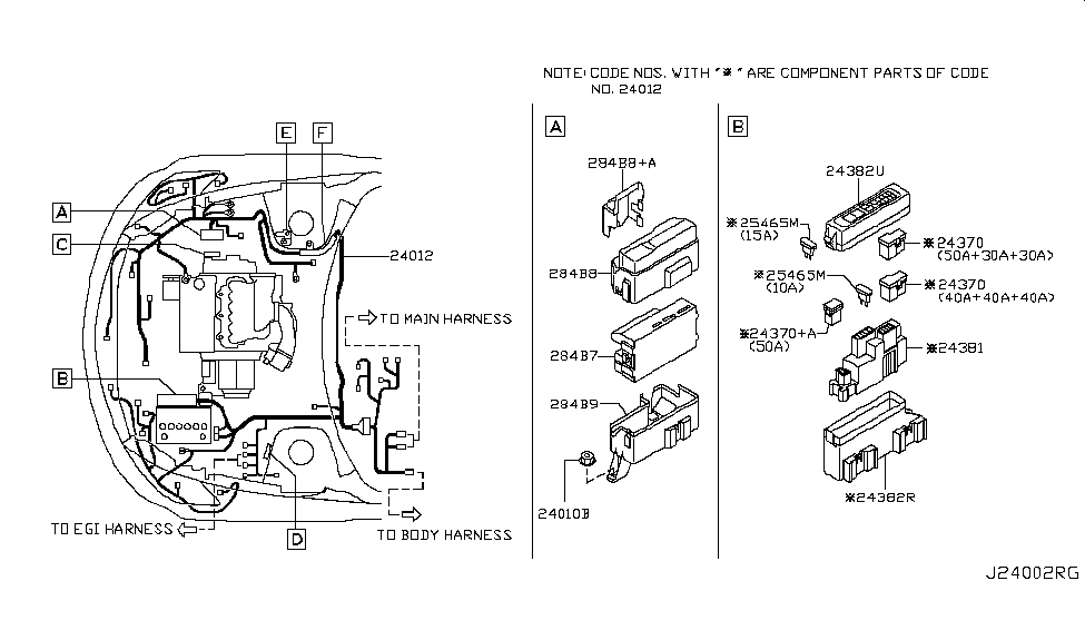Nissan 284b7 Wiring Diagram
