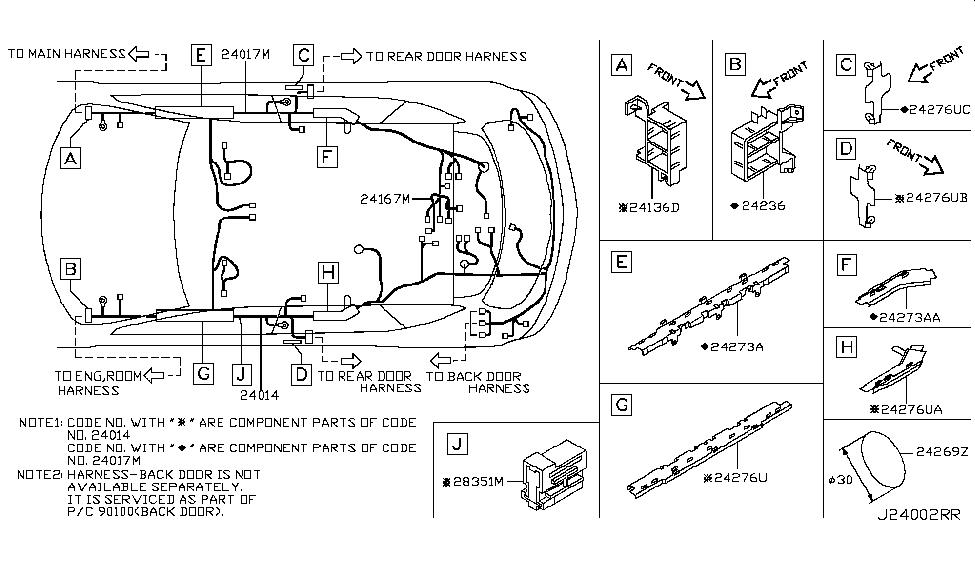 2003 nissan murano wiring nissan parts deal rh nissanpartsdeal com