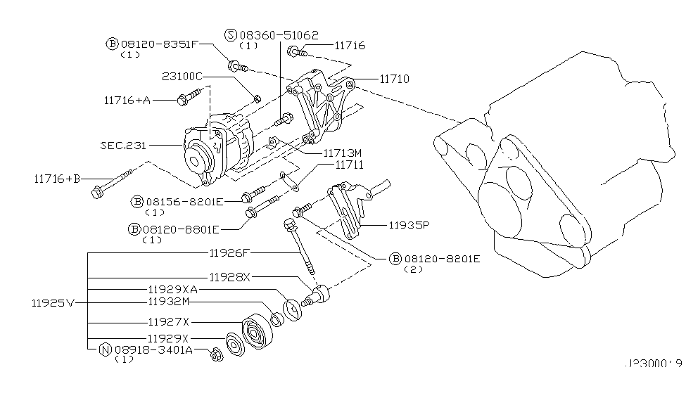 nissan pathfinder alternator wiring diagram    wiring diagram