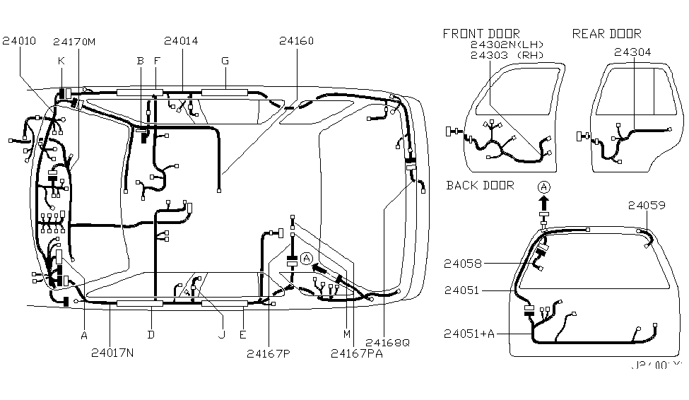2003 Nissan Wiring Diagram