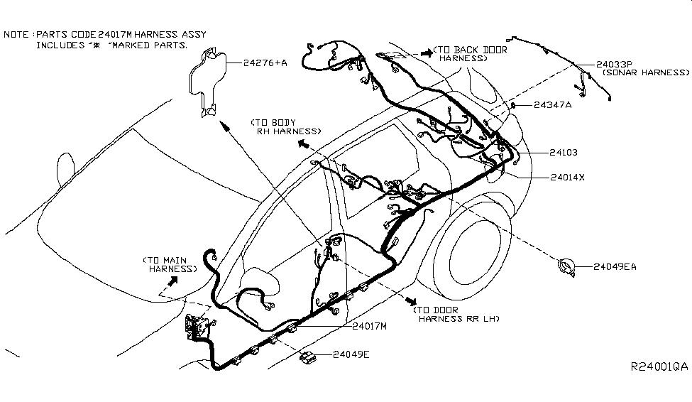 Nissan Murano Wiring Harnes Diagram