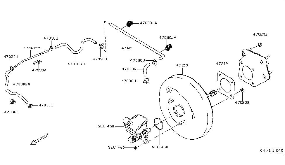 2019 Nissan Kicks Brake Servo & Servo Control - Nissan Parts