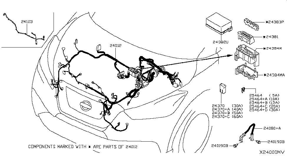 2019 Nissan Kicks Wiring - Nissan Parts Deal