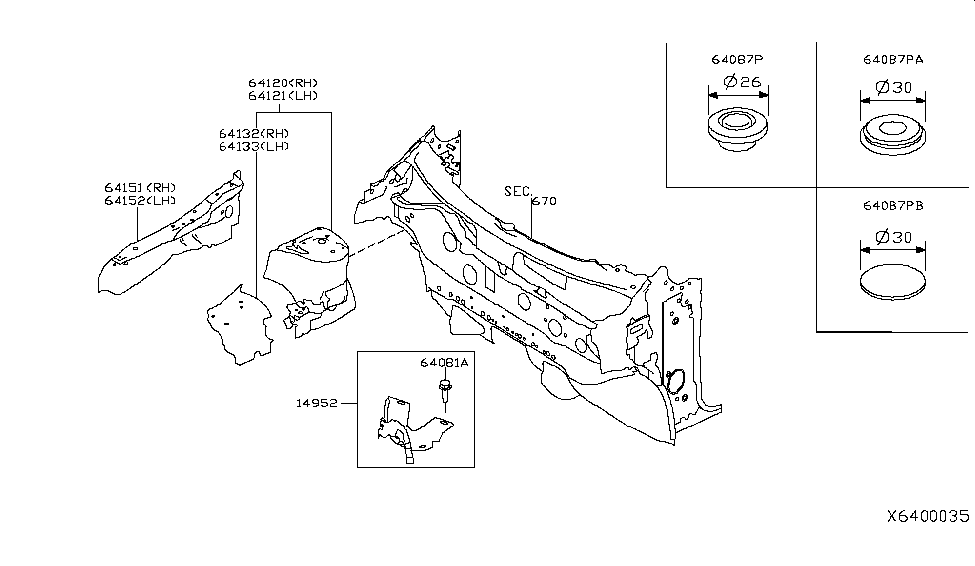 2019 Nissan Kicks Hood Ledge & Fitting - Nissan Parts Deal