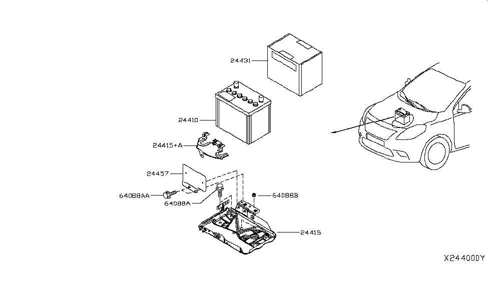 2013 Nissan Versa Battery ~ Perfect Nissan