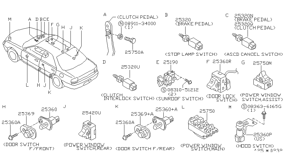 1993 Nissan Altima Radio Wiring Diagram