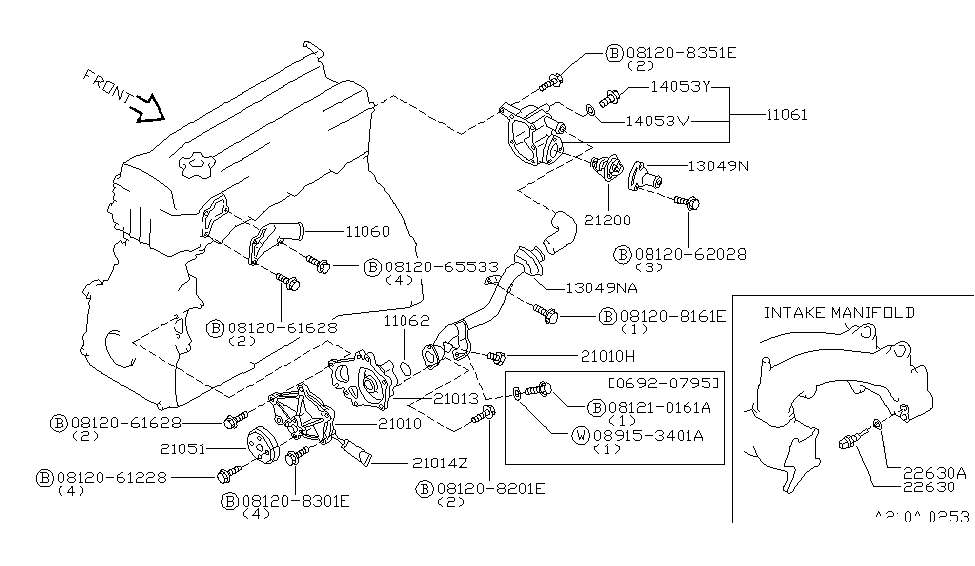 95 Nissan Quest Engine Diagram Thermostat - Wiring Diagram ...