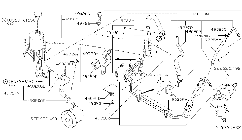 1997 Nissan Pickup Parts Diagram - automotive wallpaper