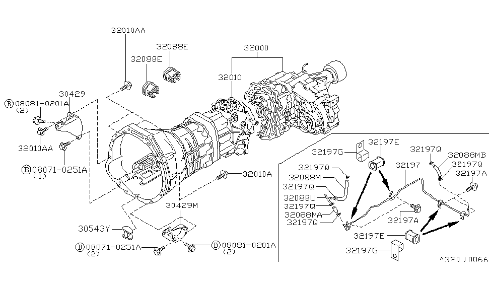 1997 Nissan Pickup Manual Transmission Diagram