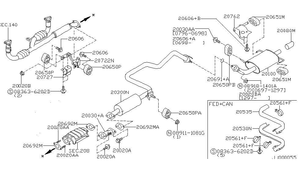 20530-38U00 - Genuine Nissan Parts