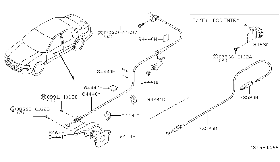 Nissan Vq20de Wiring Diagram moreover P 0900c152800764a9 additionally Wiring Diagram Nissan Tiida likewise P 0900c152800764a9 furthermore Nissan Cable Trunk Lid 84650 40u10. on nissan vq30de diagram