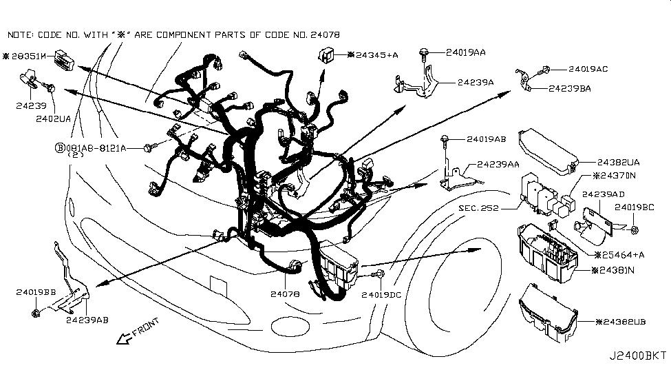Nissan 24382-6MA0A on nissan titan fuse box diagram, nissan sentra radio wiring diagram, nissan titan headlight harness diagram,