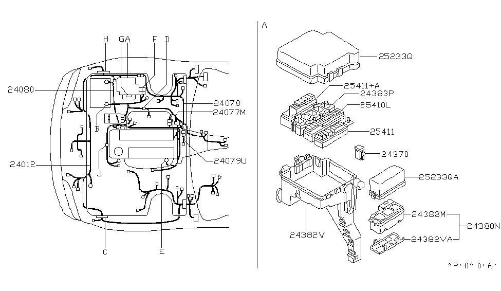 1995 nissan 240sx wiring nissan parts deal rh nissanpartsdeal com 95 nissan 240sx radio wiring diagram 95 nissan 240sx wiring diagram