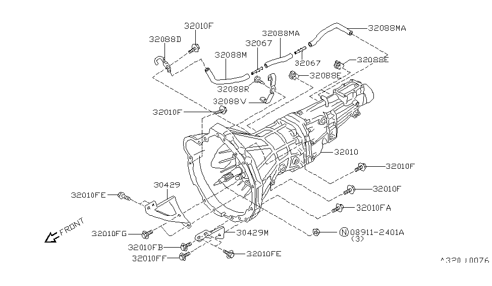 1996 nissan 240sx manual transmission diagram