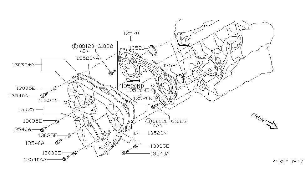 1991 nissan maxima engine diagram
