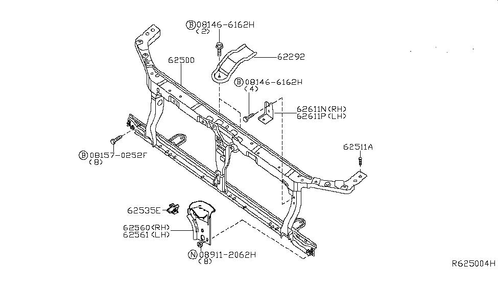 29 Nissan Frontier Parts Diagram