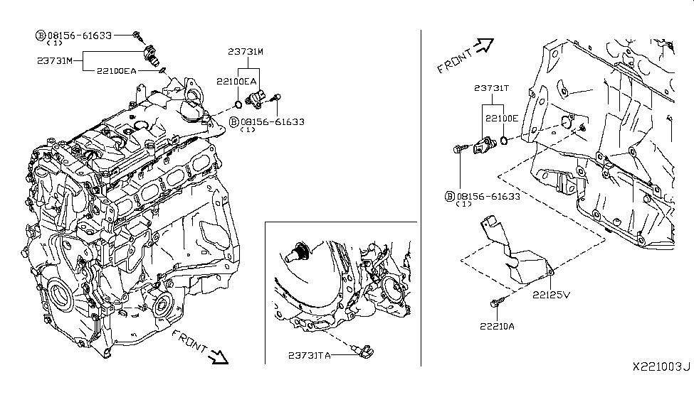 Nissan 23731-1VA0A