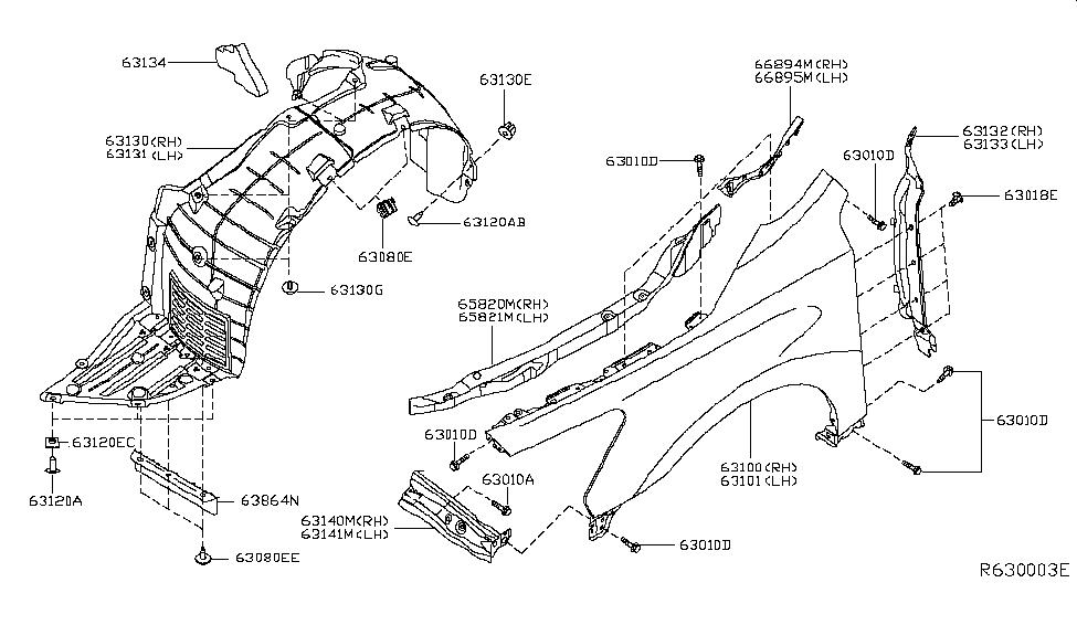 2014 Nissan Altima Parts Diagram
