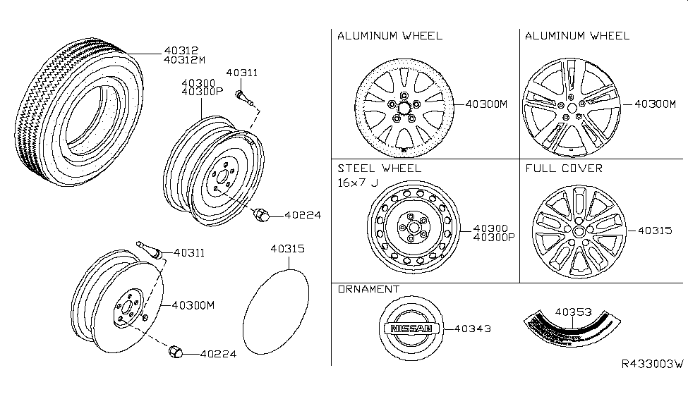 40315 3tm0b genuine nissan 403153tm0b cap road wheel 2008 nissan altima coupe engine diagram nissan altima 25 engine diagram #1