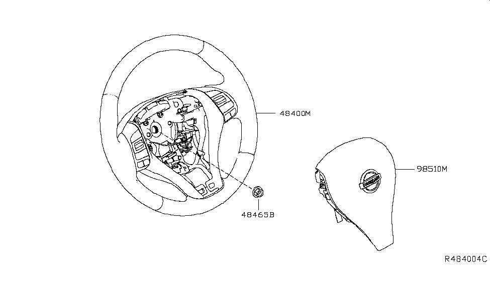 2017 nissan altima sedan steering wheel