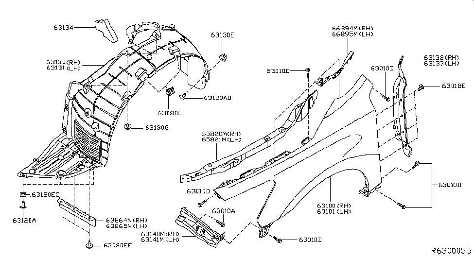 631313TA0A  Genuine Nissan Parts