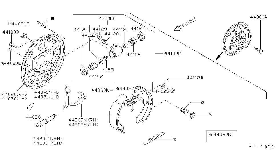 1999 nissan altima parts diagram