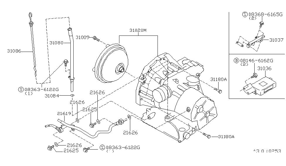 310c0 80l02 genuine nissan 310c080l02 transaxle assy automatic1999 nissan altima auto transmission,transaxle \u0026 fitting