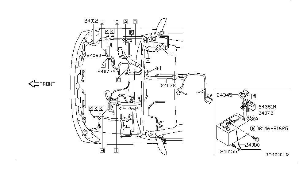 2008 Nissan Titan Wiring - Nissan Parts Deal