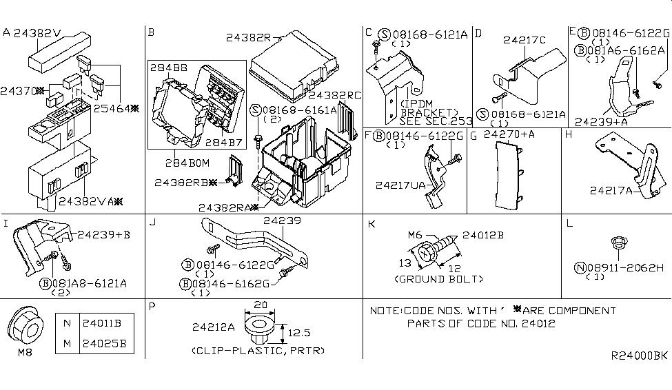 284b6 7s002 genuine nissan 284b67s002 controller assy ipdm. Black Bedroom Furniture Sets. Home Design Ideas