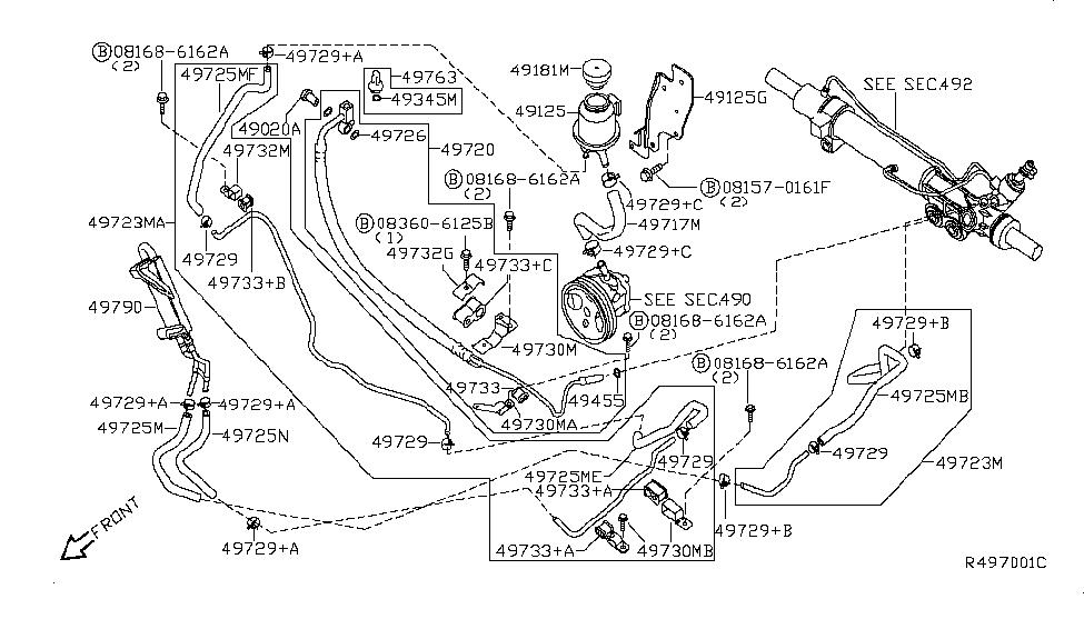 Amazing 2004 Nissan Titan Power Steering Piping