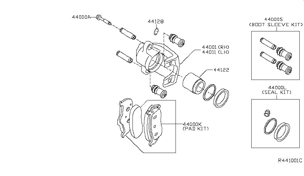 2010 Nissan Titan Rear Brake - Nissan Parts Deal