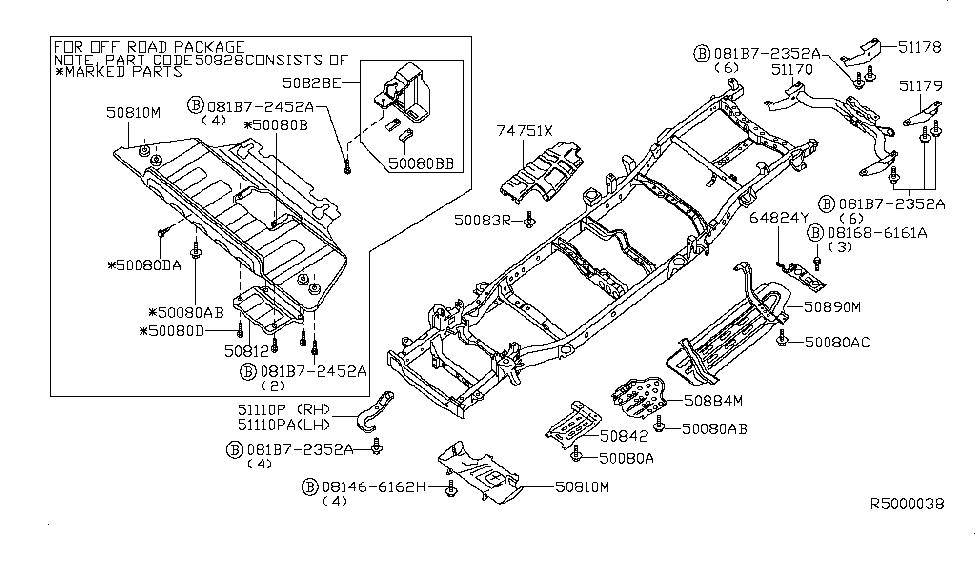 2013 Nissan Titan Frame - Nissan Parts Deal