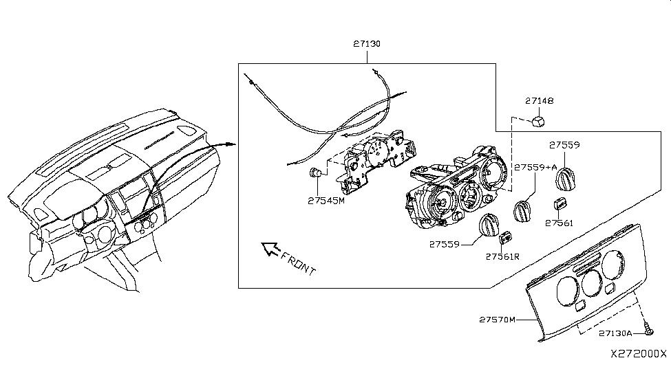 2010 Nissan Versa Sedan Control Unit - Nissan Parts Deal