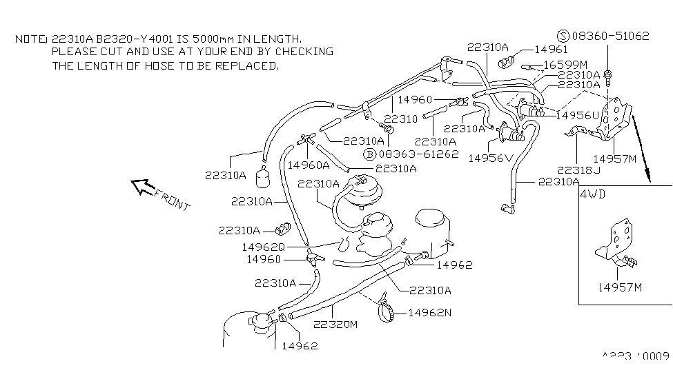 1989 nissan sentra engine control vacuum piping Ka24de Wiring Diagram 1989 nissan sentra engine control vacuum piping thumbnail 4