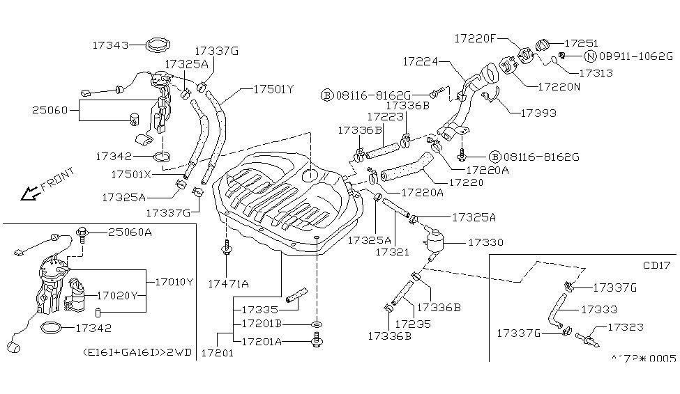 1990 Nissan Sentra Engine Diagram - Wiring Diagram Schema