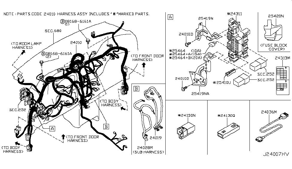 nissan 24311 ed000 2003 Nissan Sentra Wiring Diagram